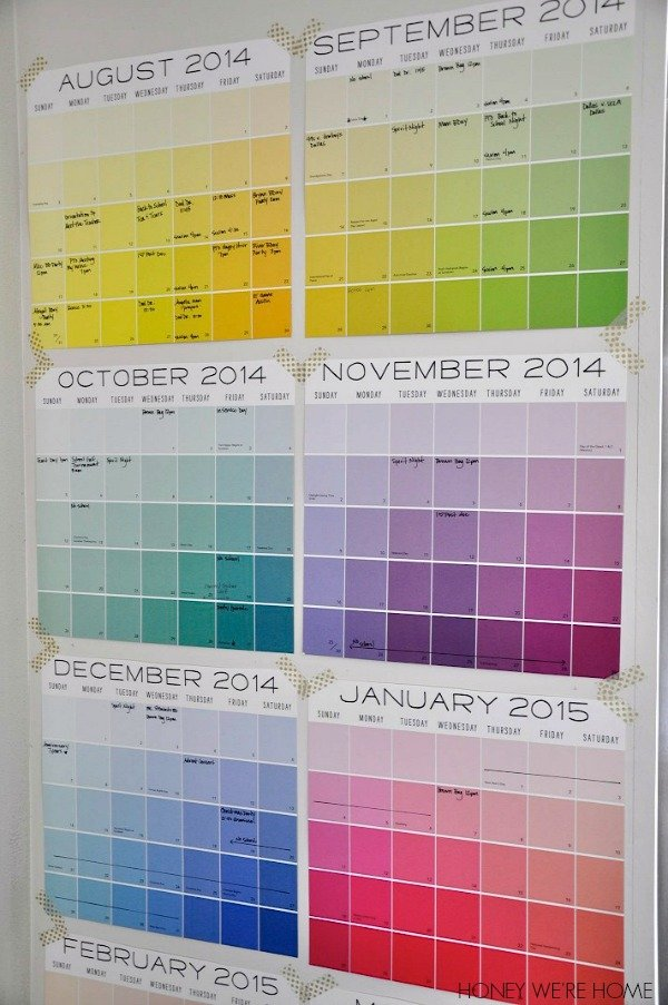 Paint-chip-wall-calendar