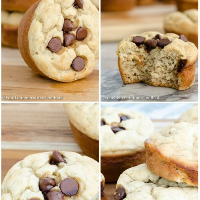 Healthy banana muffins gluten free no sugar added