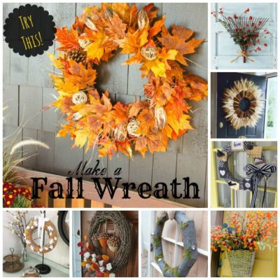 TRY THIS! 12 Ways to Make a Fall Wreath