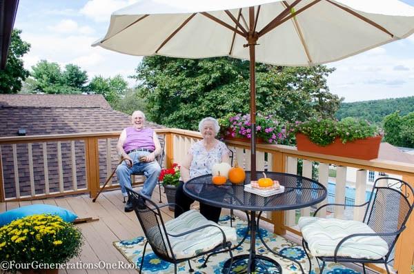 fall porch makeover {Surprise Gram!}
