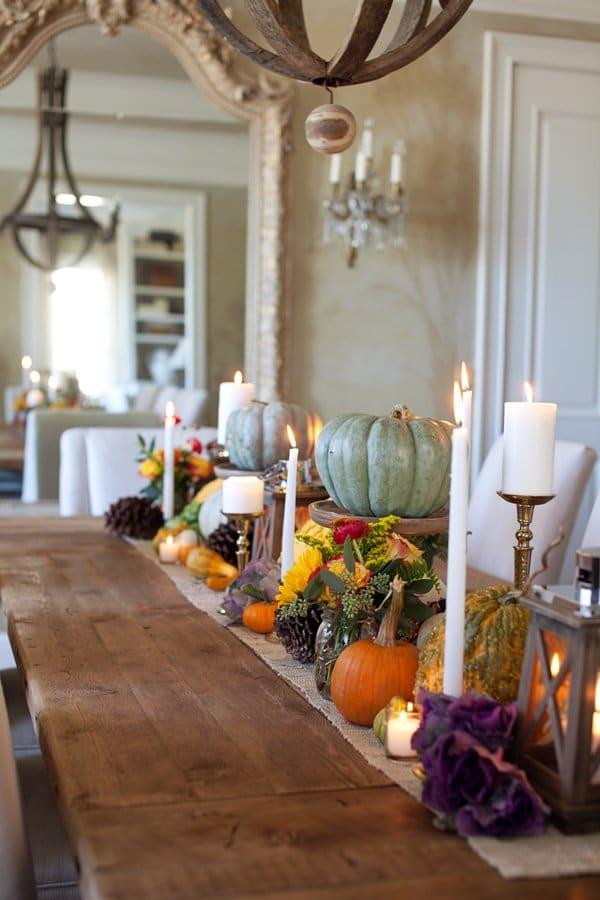 gourds-florals-table-runner