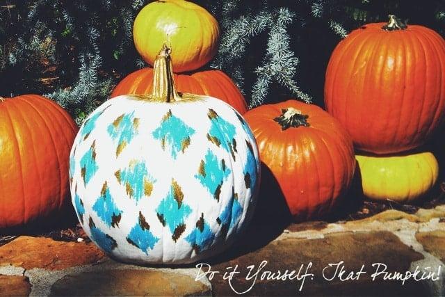 ikat-pumpkin