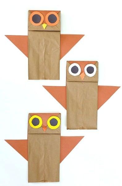 paper-bag-owl-puppets