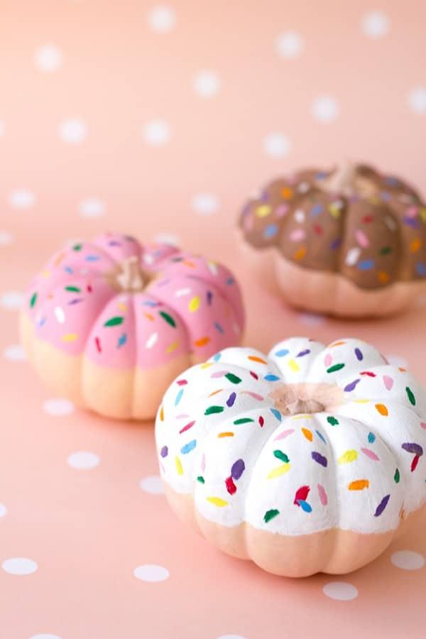 sprinkle-donut-pumpkins