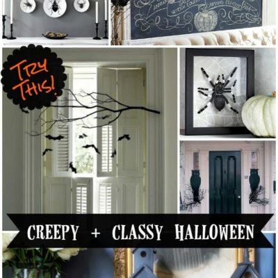 TRY THIS: Keep it Classy AND Creepy This Halloween