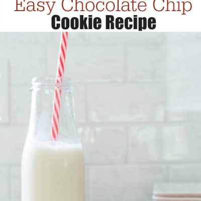 Our Delicious Chocolate Chip Cookies {quick & easy}