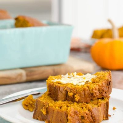 Easy Pumpkin Bread from HomeGoods