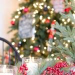 10 MINUTE - Christmas tablescape with greens