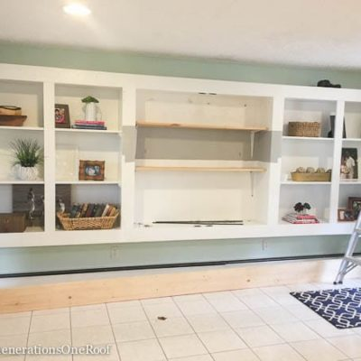 DIY Sliding Barn Doors {our kitchen renovation}