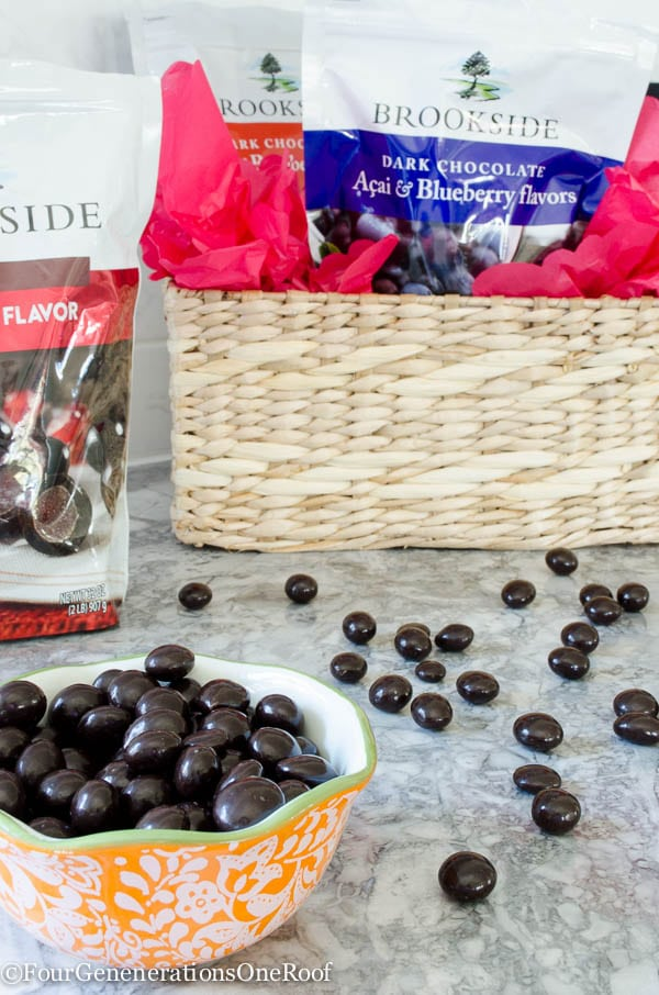 Delicious Rich Brookside Chocolate