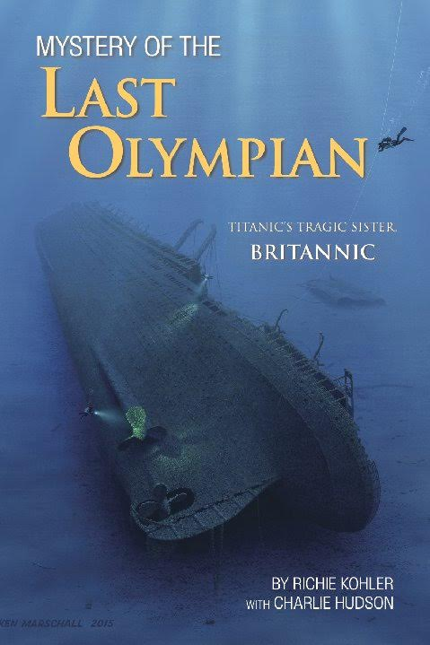 Meet my friend Richie + lets dive to the bottom of the ocean. The mystery of the sunken ship Britannic , sister ship to the Titanic.