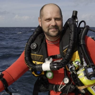 Meet my friend Richie Kohler + lets dive to the bottom of the ocean!
