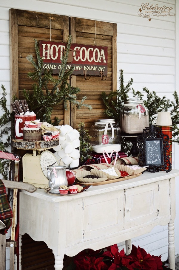 Christmas ideas for door porch decor four