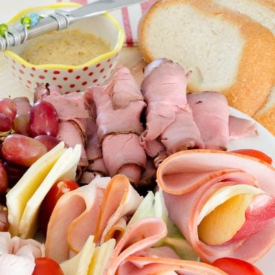 How to make a quick meat & cheese platter