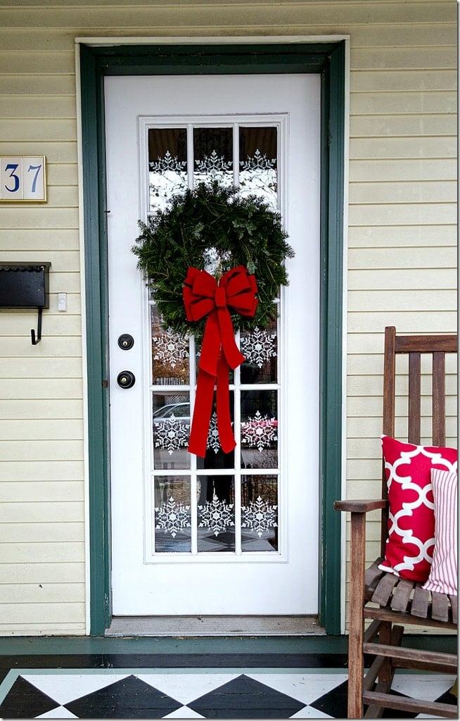 snowflake-door-panes