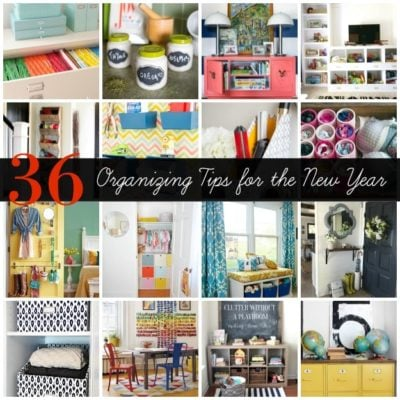 36 Tips for Getting Organized
