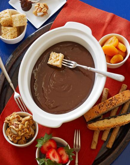 Chocolate-Caramel-Fondue