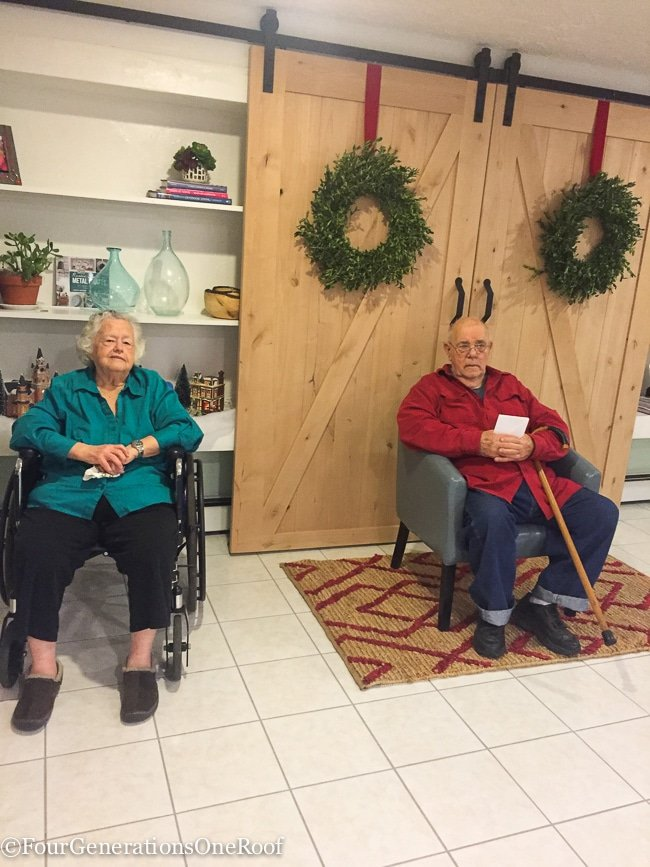 Grandfather update and Christmas 2015