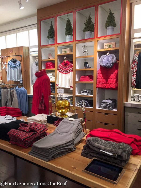 Charming Holiday Shopping Copley Place Boston Landsu0027 End Pop Up Store