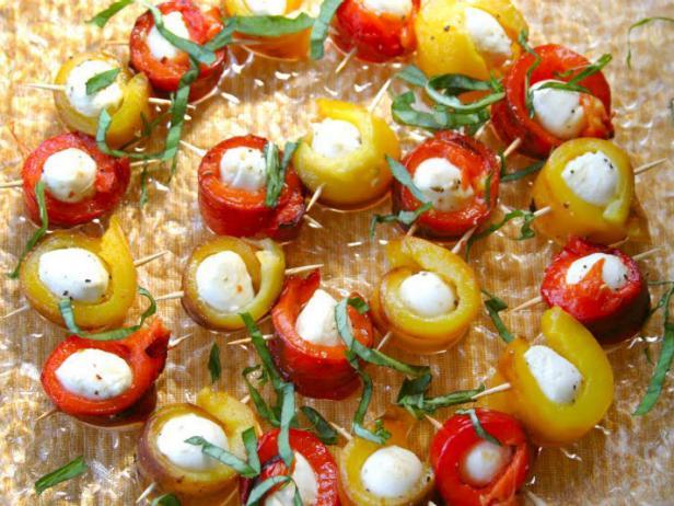 Roasted-Pepper-Mozzarella-Bites