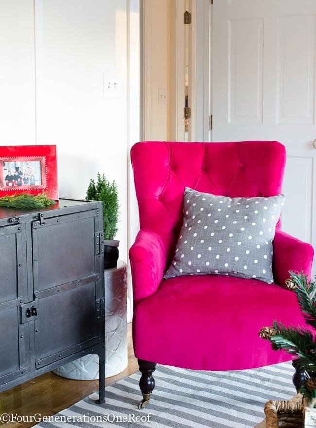 Rustic Red Christmas Playroom - Study 2015