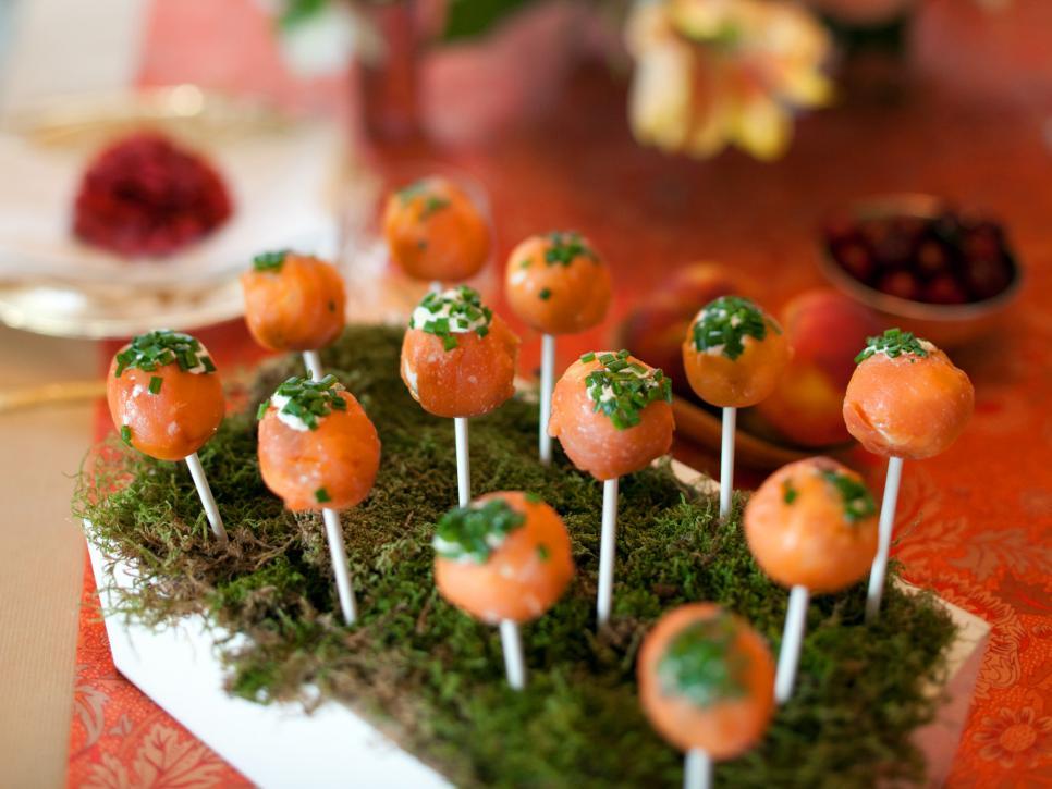 Salmon-Lollipops