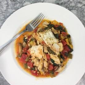 Cod Recipe {easy + healthy}