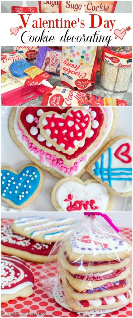 Decorating Valentine\'s Day Cookies {our kids Saturday night ...