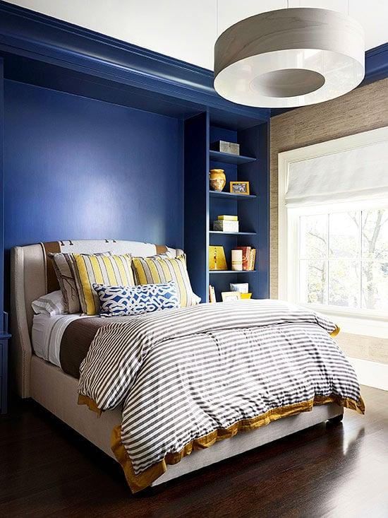 36-cozy-master-bedrooms-indigo-bedroom