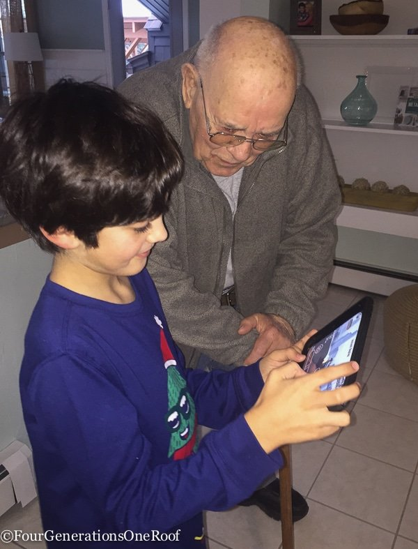 my grandfather and the ipad