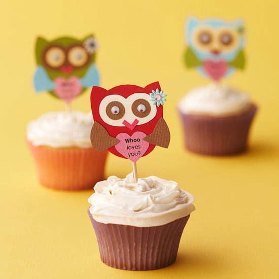 40-valentine-treats-owl-love-cupcakes