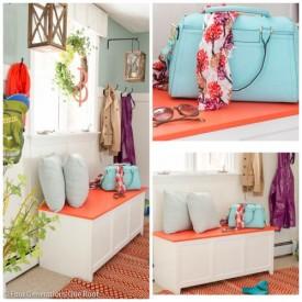 shop the look: Spring mudroom wall