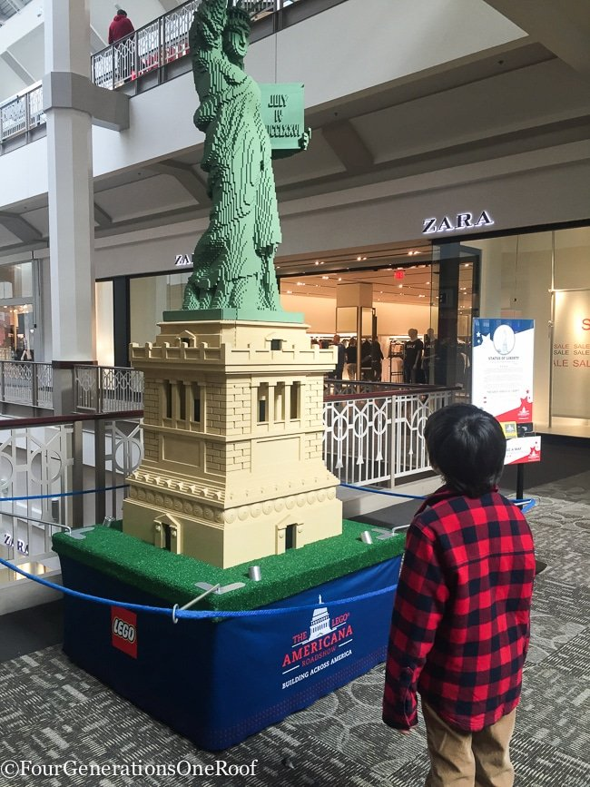 Lego Americana Roadshow Providence Ri Four Generations One Roof