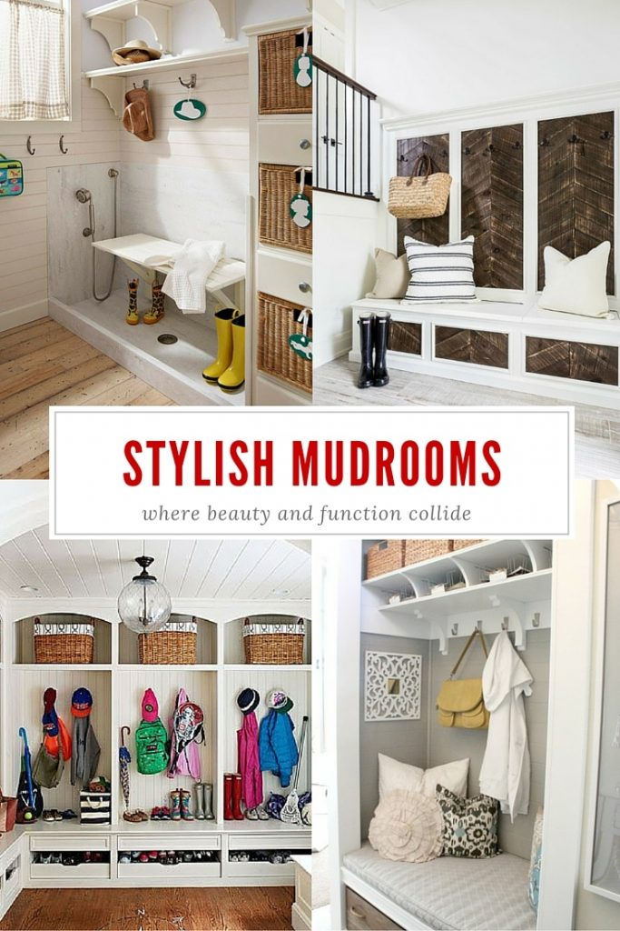 Stylish and Functional Mudroom ideas - Four Generations One Roof