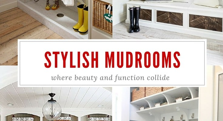 Stylish and Functional Mudrooms