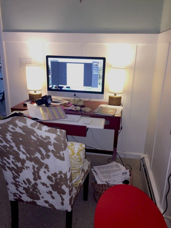 Changing things up {home office}