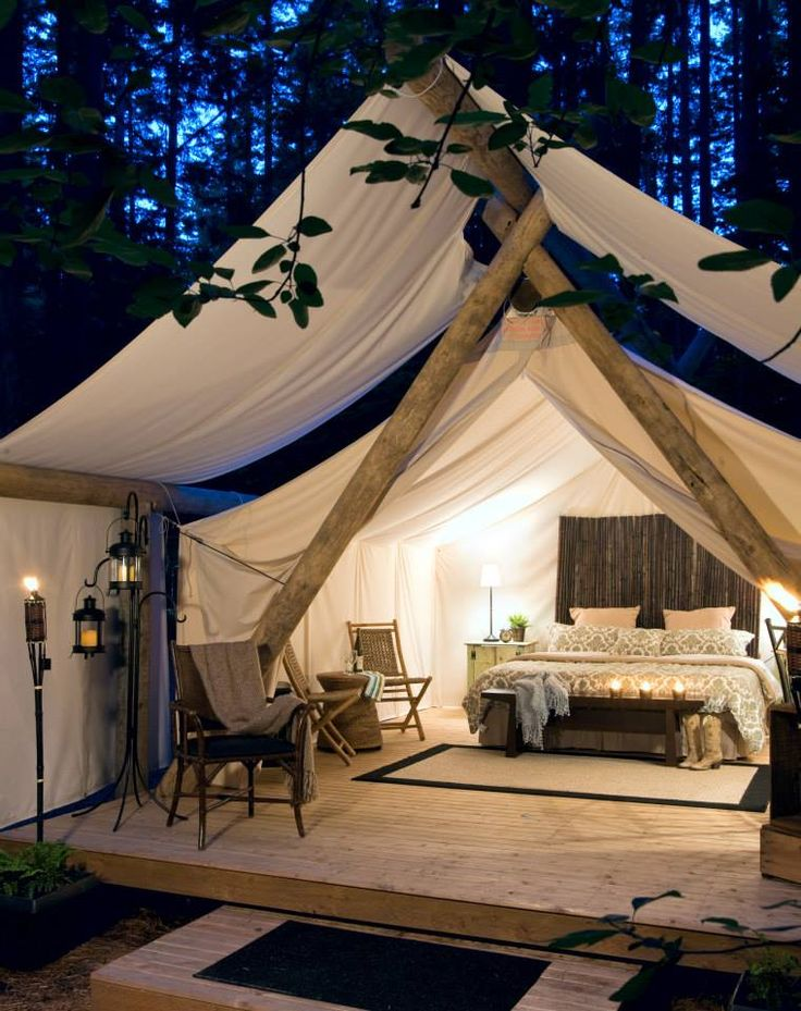 What Is Glamping Four Generations One Roof