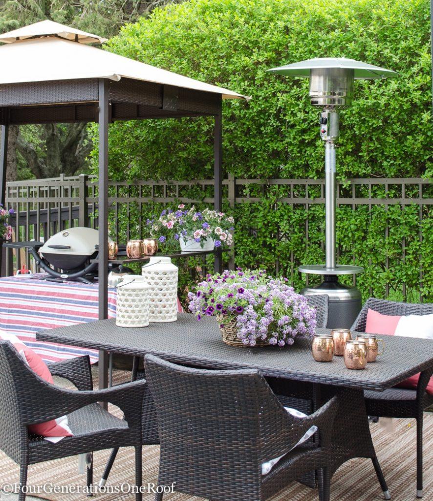 entertaining outdoor patio tips