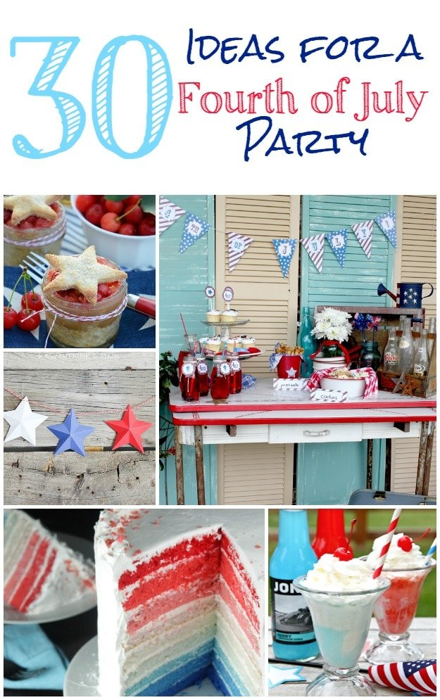 4th of july party ideas lake this weekend four for 4th of july celebration ideas