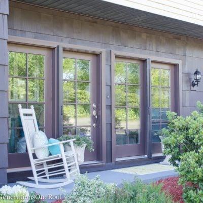 New Patio Doors {Foyer Renovation Reveal}