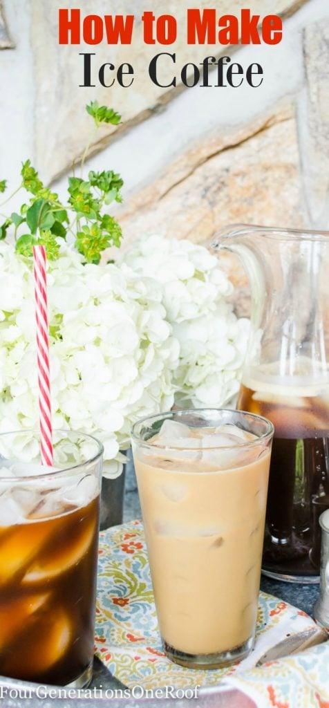 Ice coffee tips: How to make ice coffee