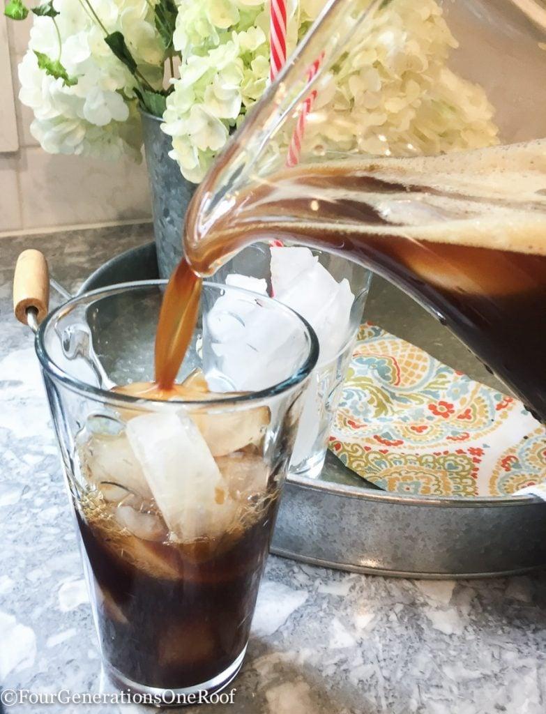how to make ice coffee