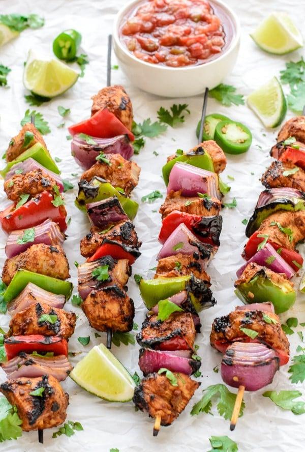 The-best-summer-grilling-recipe-Fajita-Chicken-Kebabs-600x888