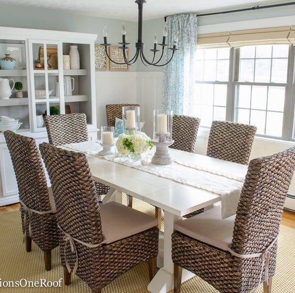 Dining Room Makeover {coastal}