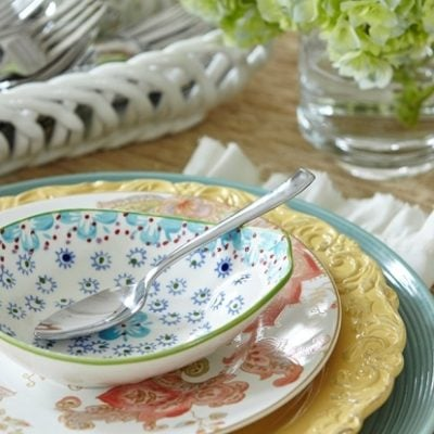 How to set a table {HomeGoods photoshoot reveal}