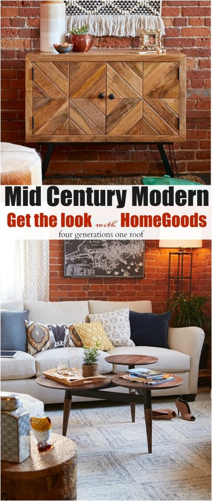 Mid Century Modern Get the look with HomeGoods behind the scenes HomeGoods photoshoot