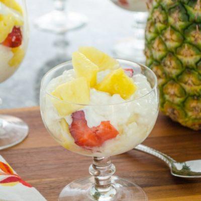 Delicious Pineapple Parfait Recipe