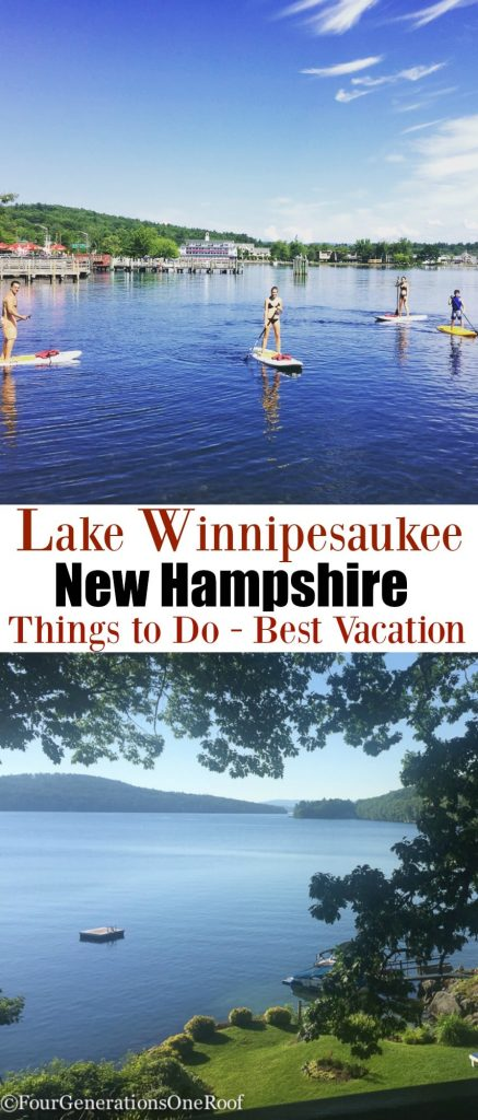 Lake Winnipesaukee vacation 2016 / Mill Falls / Meredith NH/ Fun Spot / Monkey Trunks / Go-Kart Track/ Best vacation / Things to Do / Four Generations One Roof