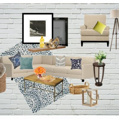 Family Room Inspiration board