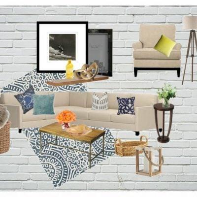 Family Room Inspiration board